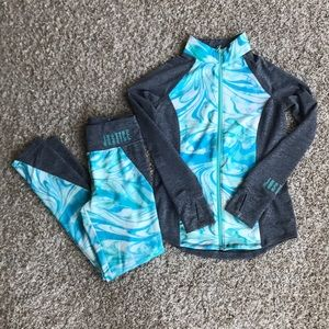 Justice outfit size 10